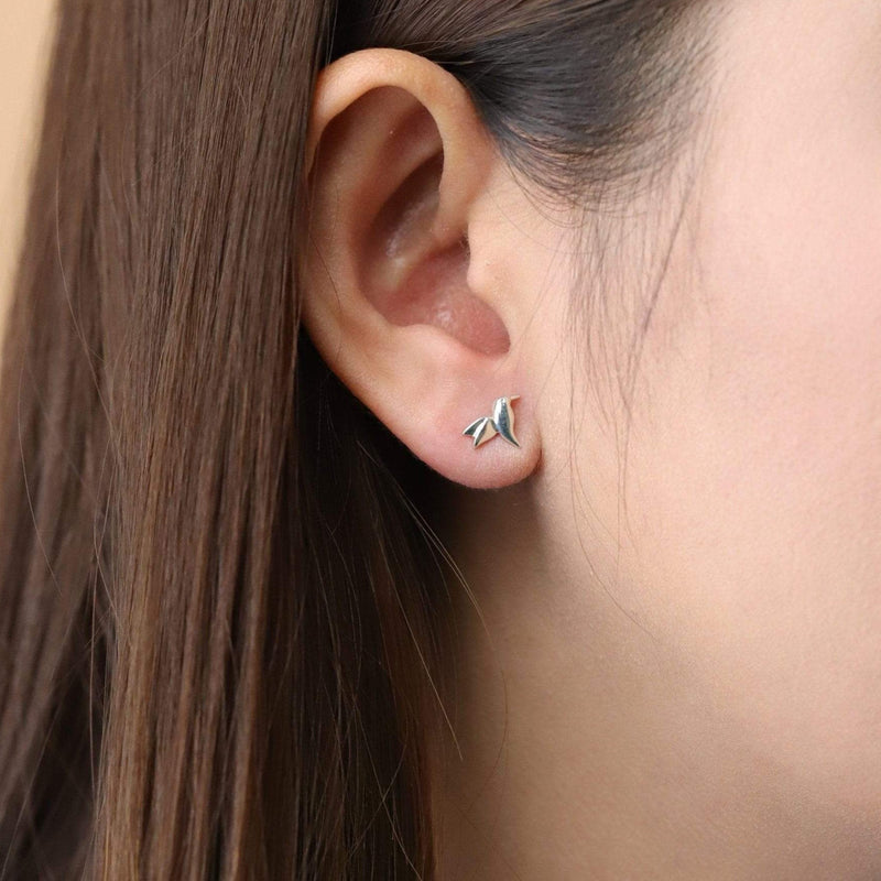 Boma New Earrings Humming Bird Studs