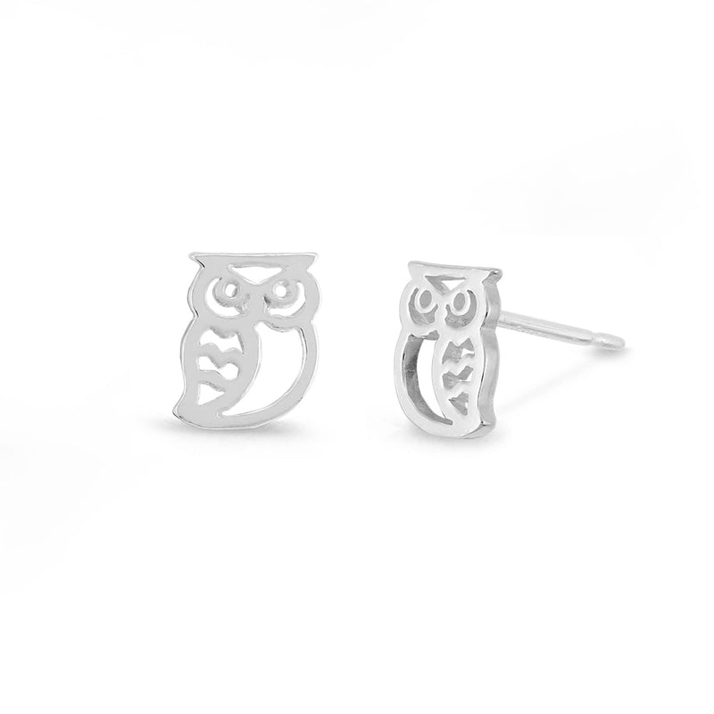 Boma New Earrings Owl Studs