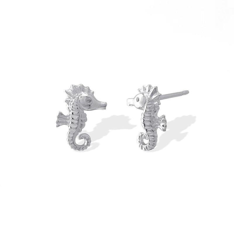 Boma New Earrings Seahorse Studs