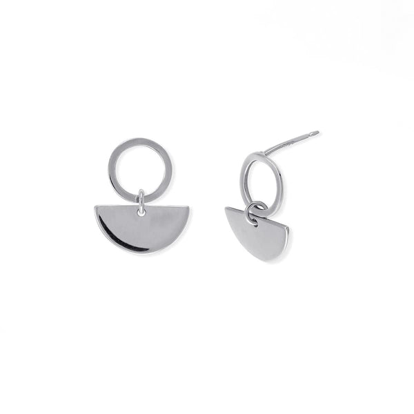 Boma New Earrings Semi-Circle Stud
