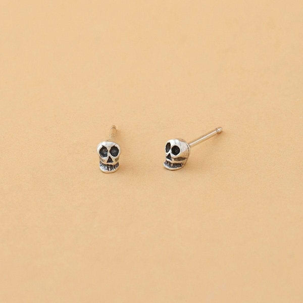 Boma New Earrings Skeleton Studs