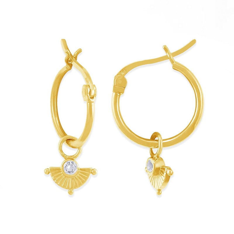 Boma New Earrings Sophia Hoops