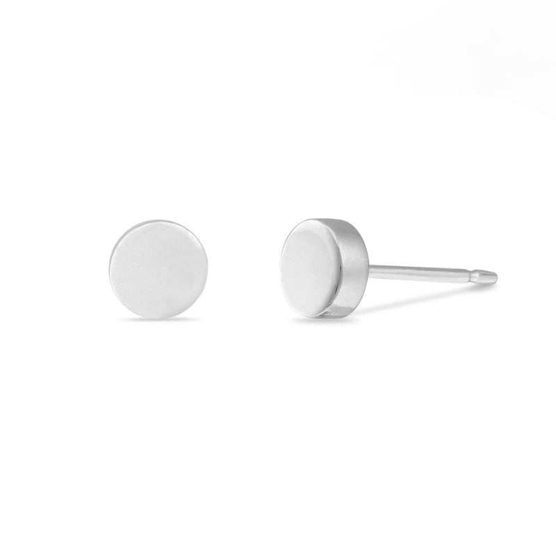 Boma New Earrings Sterling Silver Belle Circle Studs
