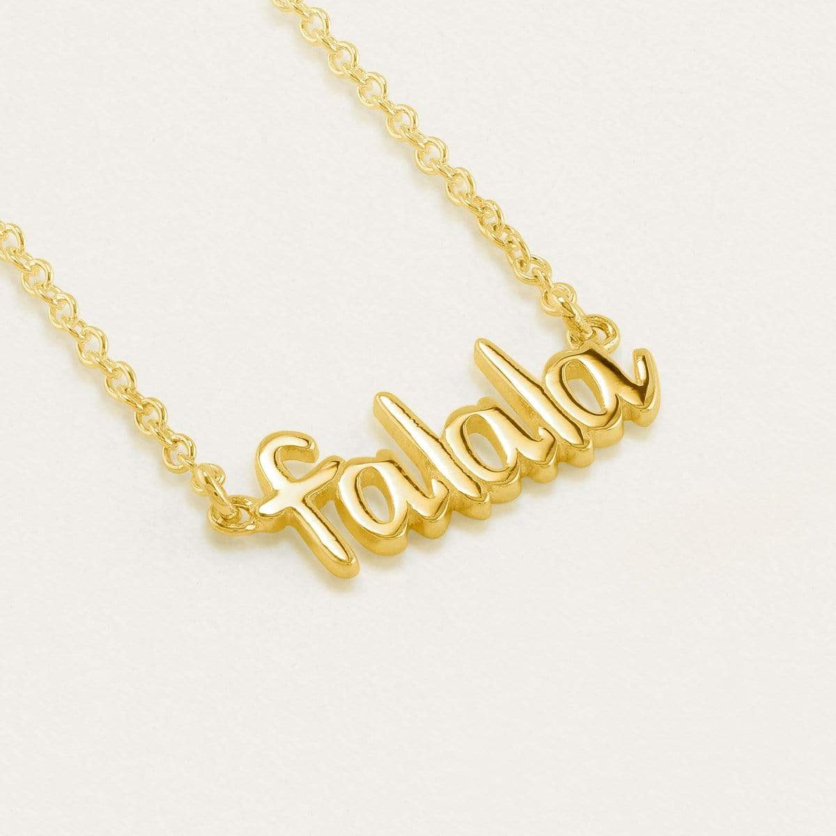 Falala Necklace Gold