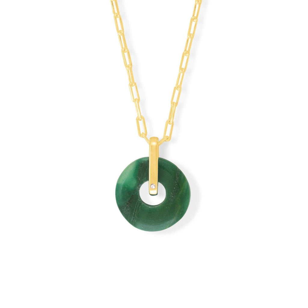 Boma New Necklaces 14K Gold Vermeil NA 9146GRA