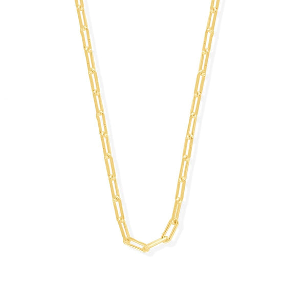 "Boma New Necklaces 18"" / 14K Gold Vermeil Cable Chain"