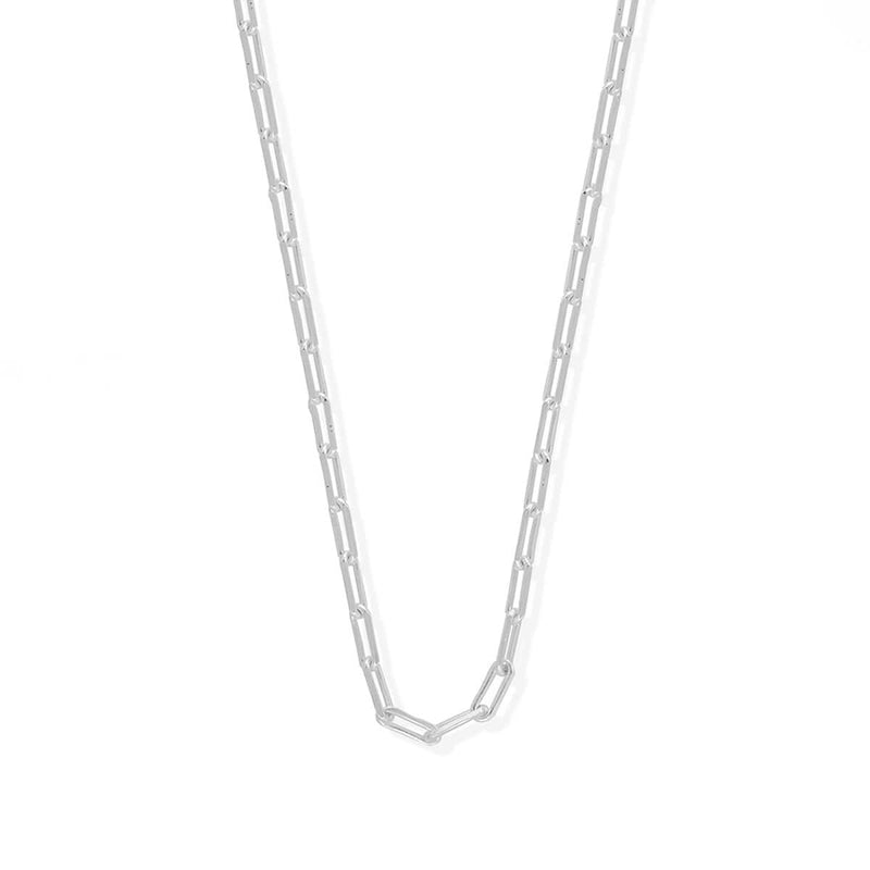 "Boma New Necklaces 18"" / Sterling Silver Cable Chain"