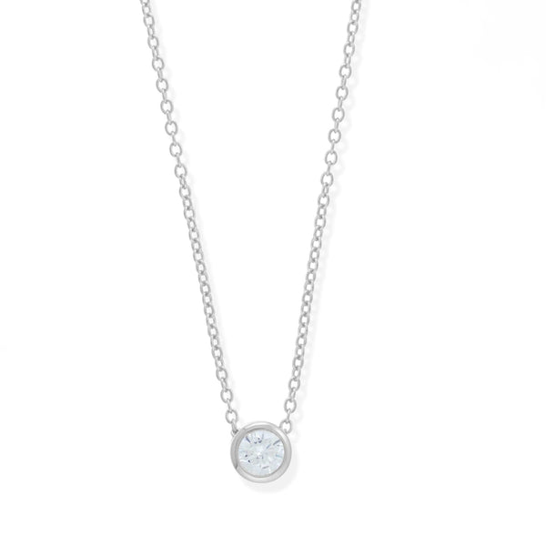 Boma New Necklaces 925 Sterling Silver Belle Pendant Necklace