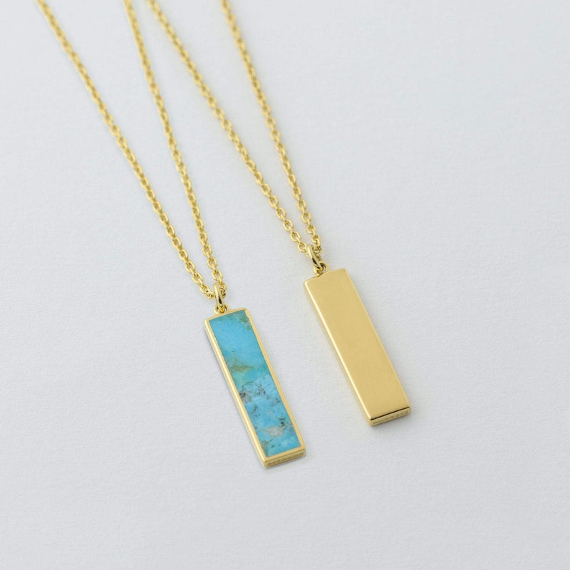 Belle Two Way Necklace with Turquoise