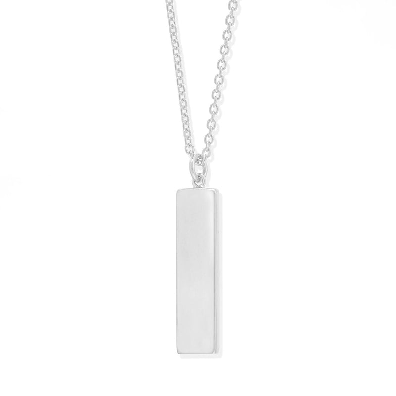 Boma New-Necklaces Sterling Silverl with White Mother of Pearl Belle two way Necklace with stone