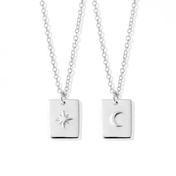 Boma New Necklaces Lune & Etoile Pendant Necklace