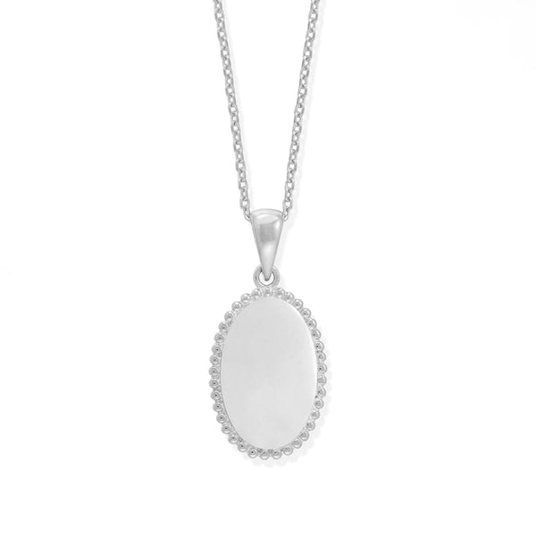 boma new necklace sterling silver ariana medallion