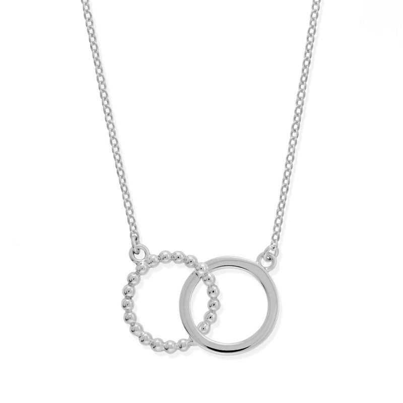 Boma New Necklaces Sterling Silver Deluxe Dot Circle Pendant Necklace