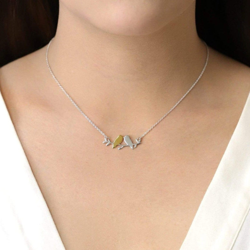 Boma New Necklaces Two Birds Necklace