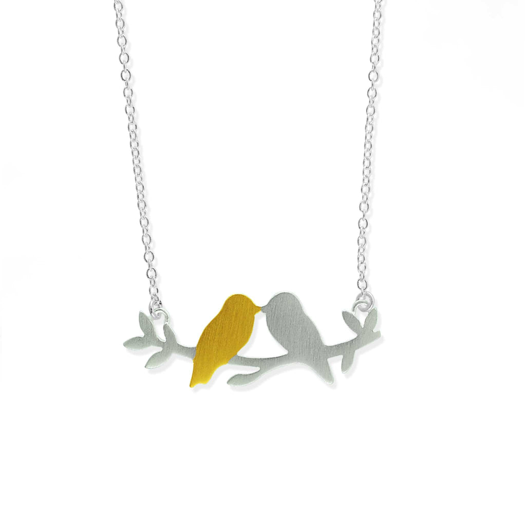 Two Birds Necklace