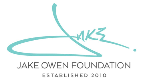 The Jake Owen Foundation logo image
