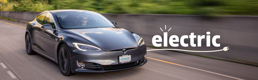 How to Win an Electric Car Phone Hero Image Blur