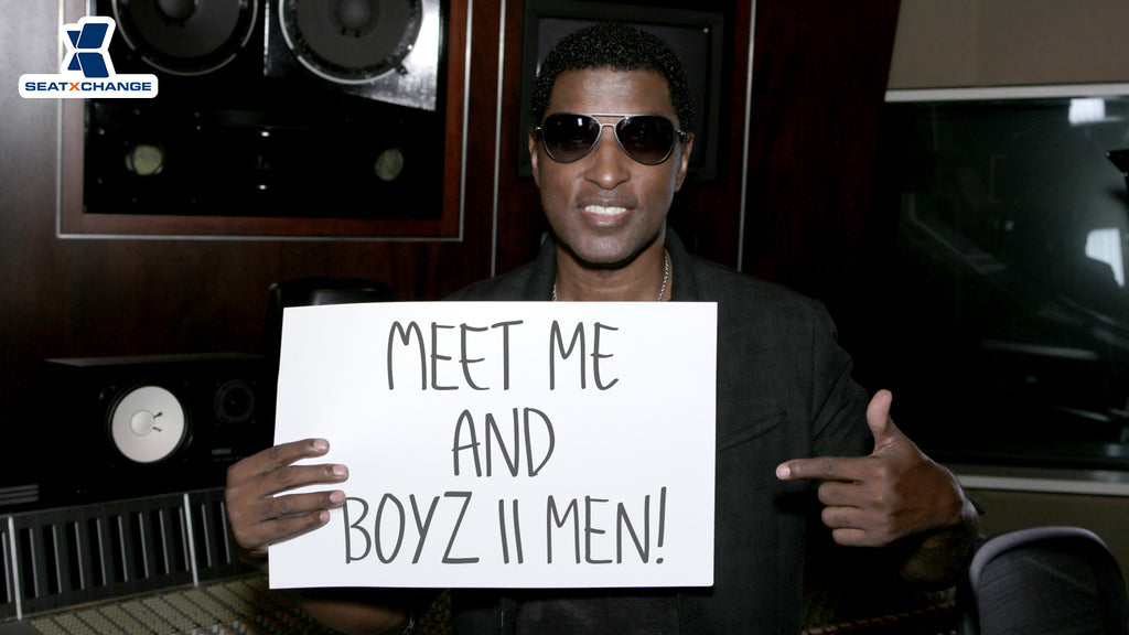 Spend a Day in the Studio with Babyface and Sit VIP at Boyz II Men