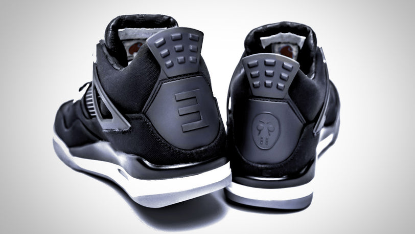 399ffb8116e Well, how much you walk in these size 10, never-been-worn Carhartt® x  Eminem® Air Jordan® 4 ...