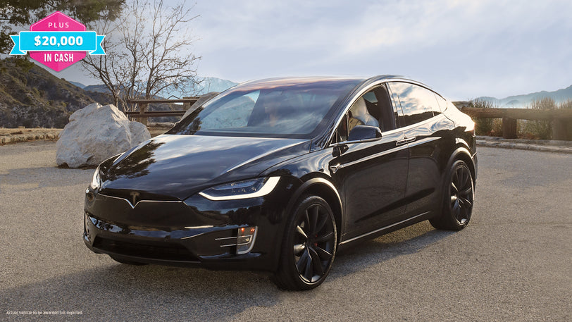 Drive Home a Tesla® Model X P100D and Score $20,000