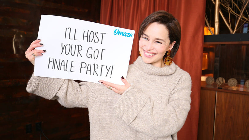 Have the Ultimate Game of Thrones Finale Party with Emilia Clarke