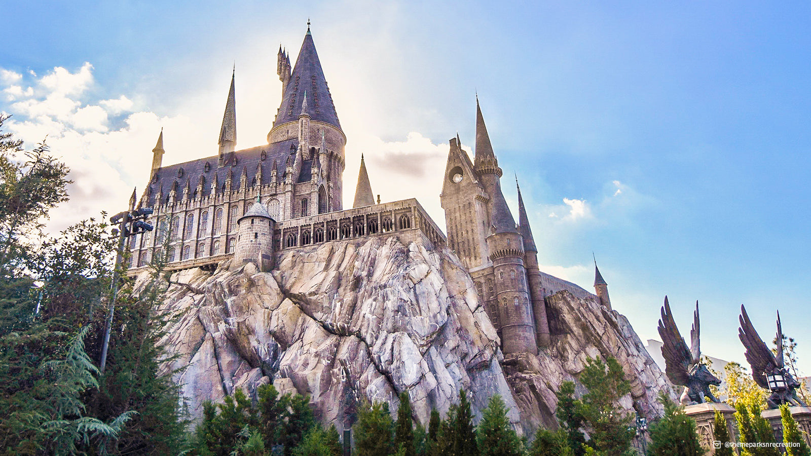 The castle in the wizarding world