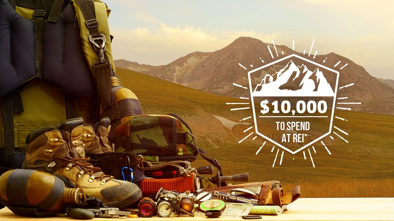 Win $10,000 to Shop at REI® and Get Ready for Your Next Adventure