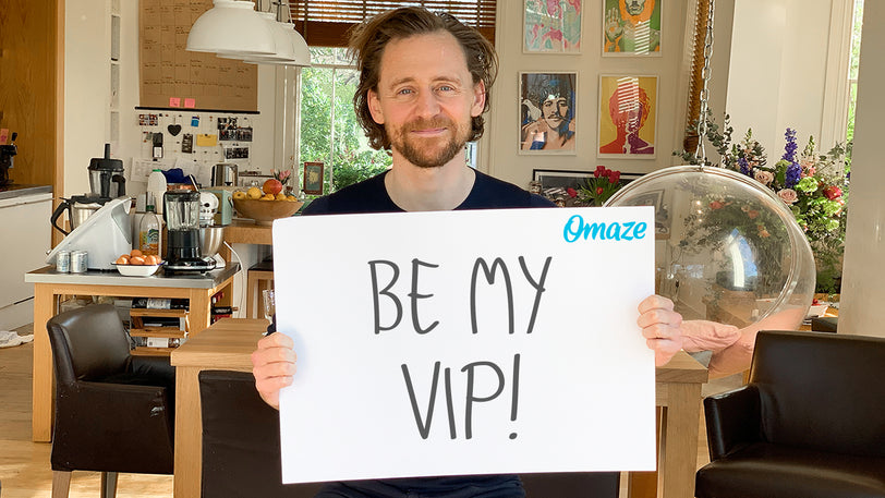 Meet Tom Hiddleston for a Drink in London & Sit VIP at His Show