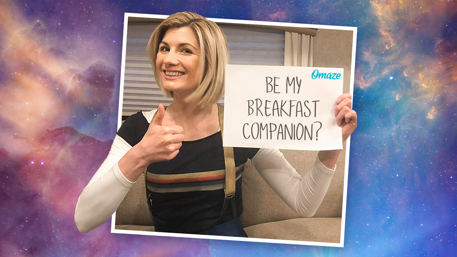 Join Jodie Whittaker For Breakfast On The Doctor Who Set