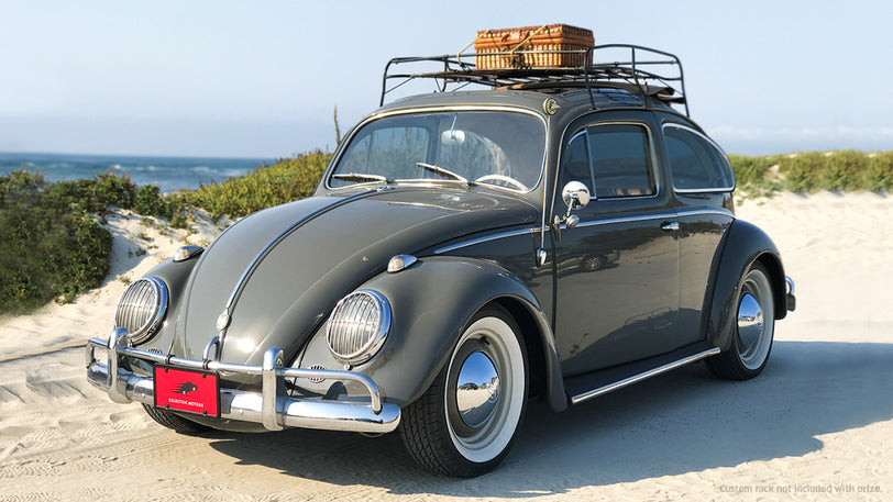 Win A Car Sweepstakes >> Win A One Of A Kind 1958 Vw Bug Powered By Tesla Batteries