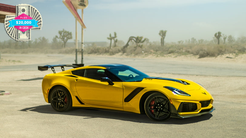 Win a 2019 Corvette® ZR1® with $20,000 in the Trunk