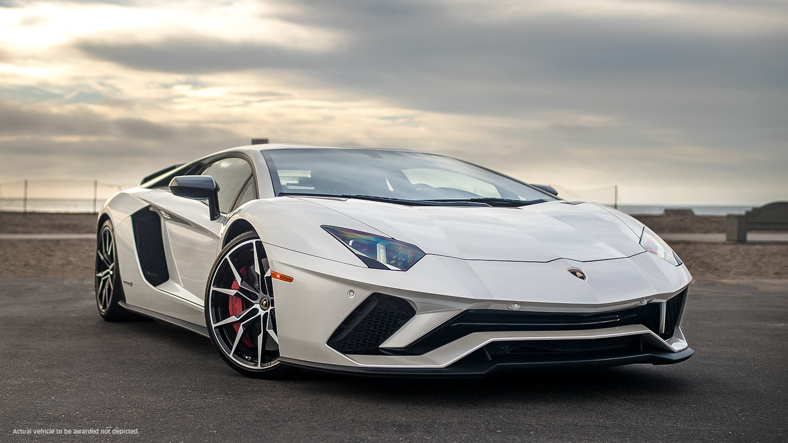 Win Your Very Own $400,000 Lamborghini Aventador S