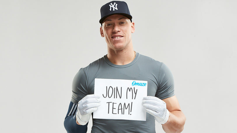 Join Aaron Judge's Softball Team & Be His VIP at a Yankees® Game