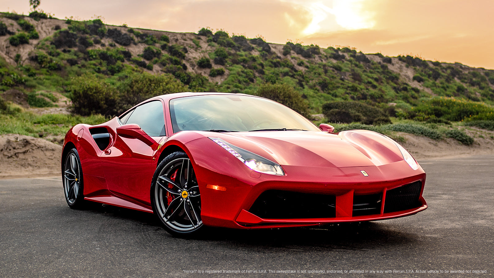 Speed Away with Your Very Own Ferrari® 488 GTB