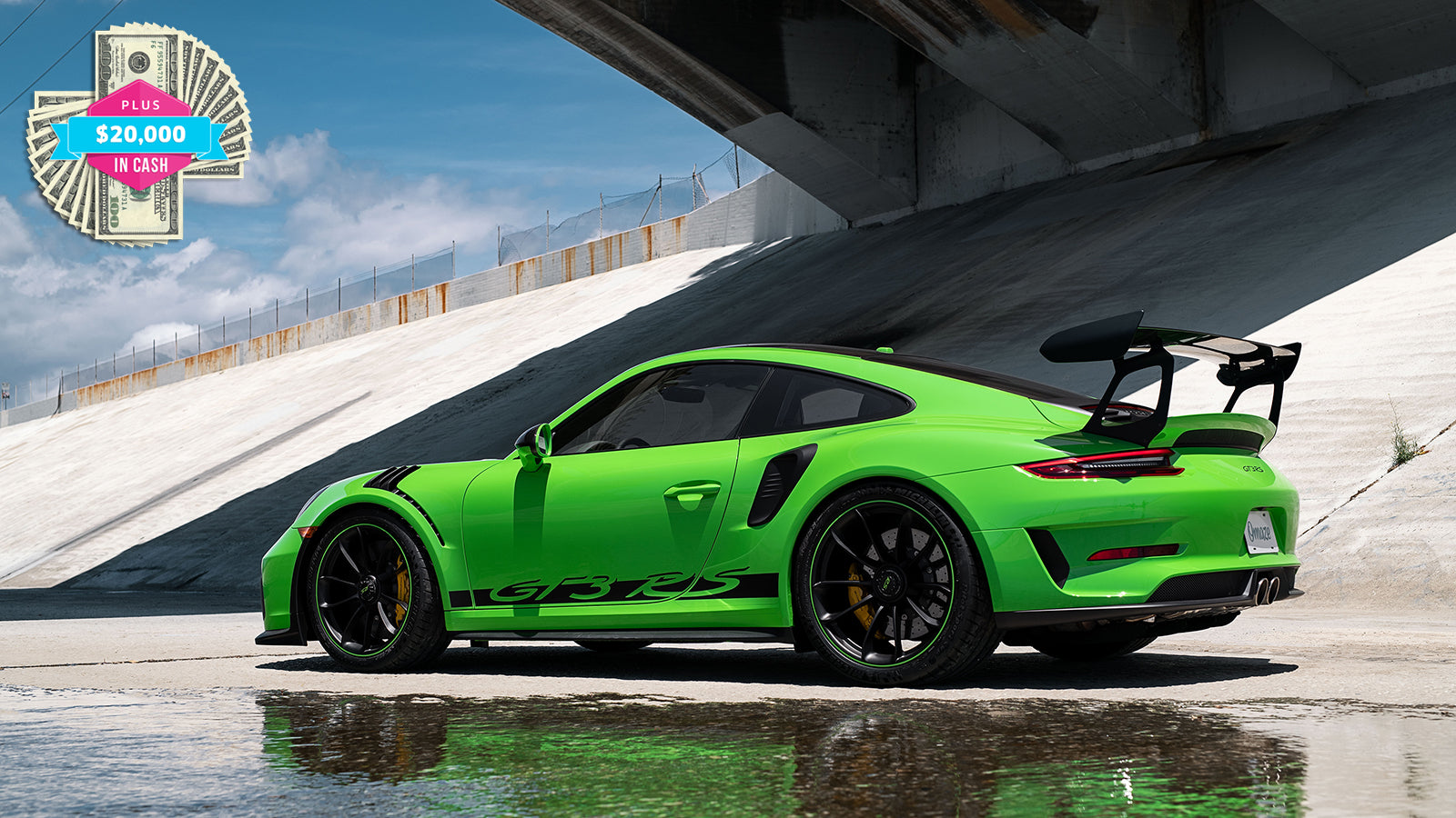 Win A Brand New Porsche 911 Gt3 Rs And 20 000