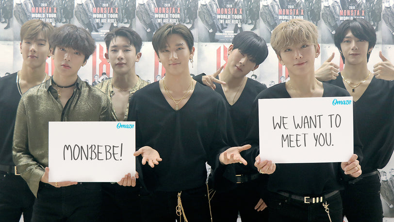 Hang Out with MONSTA X Before Their Concert in Los Angeles