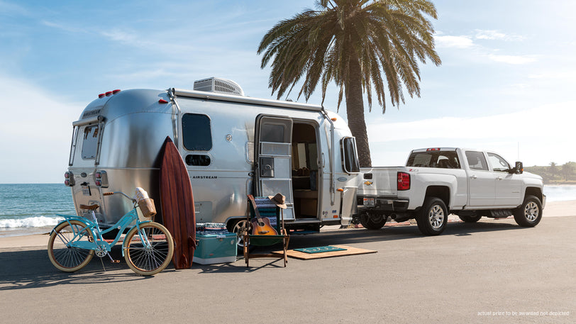 Win an Airstream Flying Cloud & Chevy Silverado 2500HD to Adventure in Style