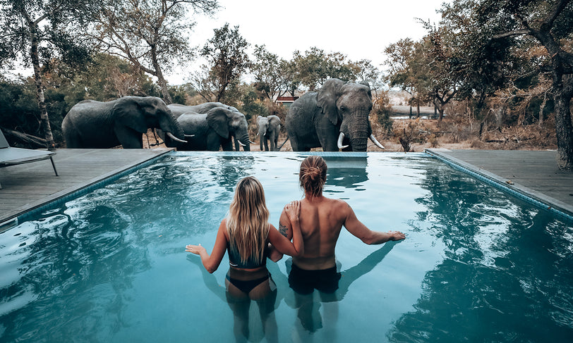 Go Wild on a South African Glamping Safari with Marie Fe & Jake Snow