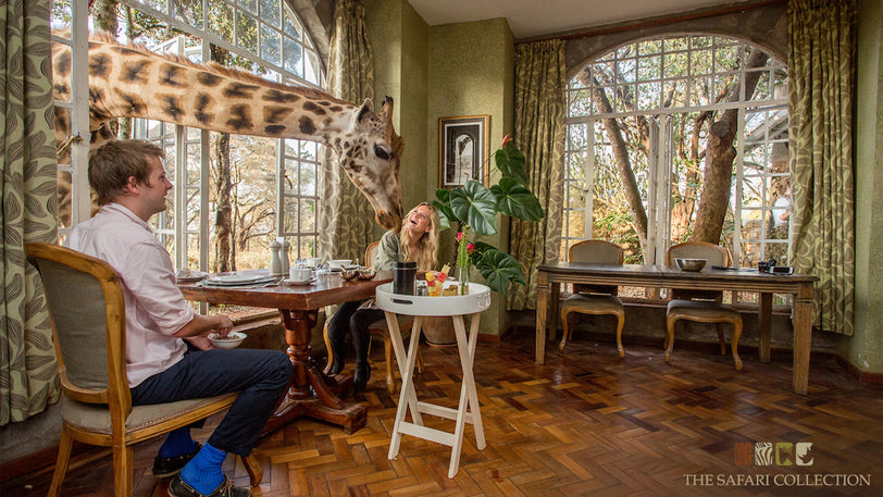 Kiss a Giraffe on a Life-Changing Safari in Kenya