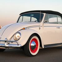 The 1965 Beetle Convertible with Tesla Batteries