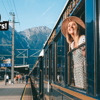 A carousel of images showcasing the Venice Simplon-Orient-Express