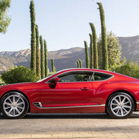 The red 2020 Bentley Continental GT V8
