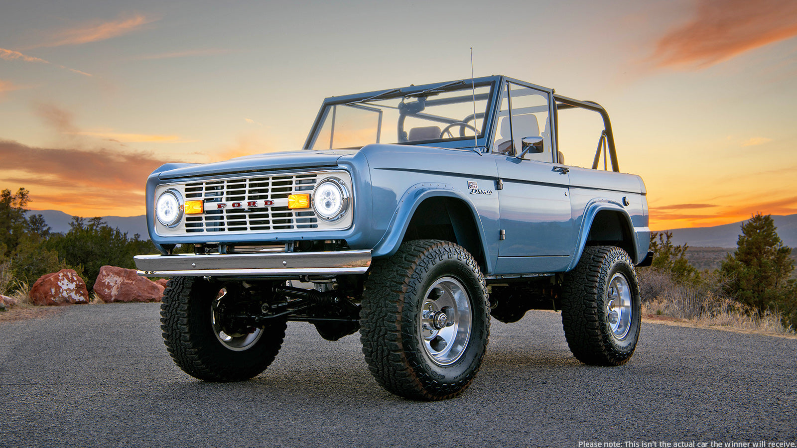 Win A Custom Electric Ford Bronco And 20 000