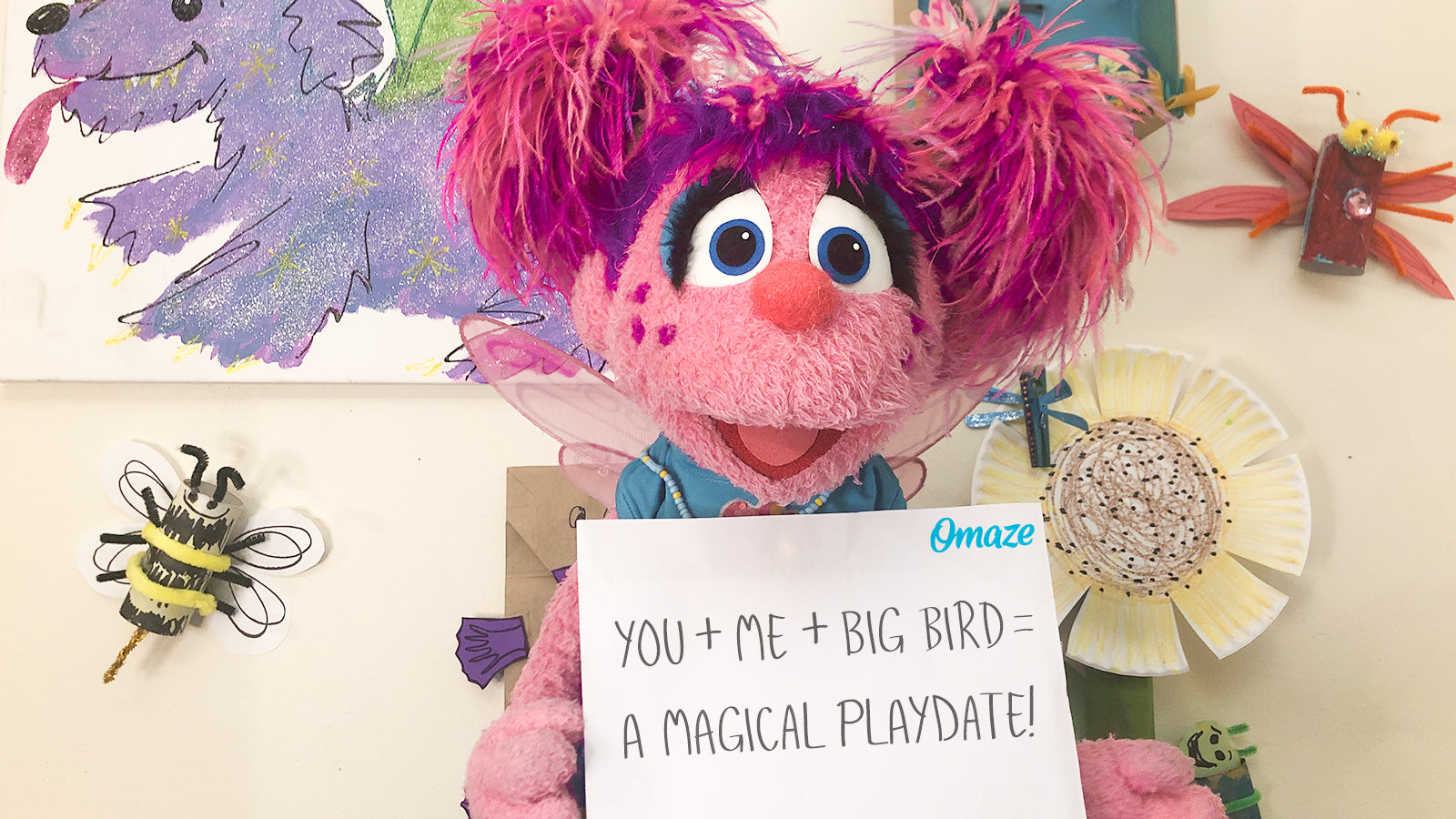 Join Sesame Street S Big Bird And Abby Cadabby For A Virtual Playdate
