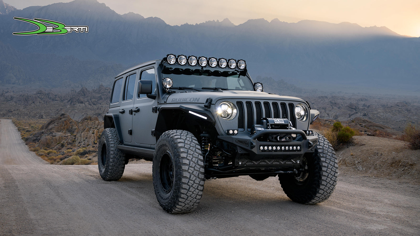 Win A Custom Jeep Wrangler Rubicon From Deberti And 20 000