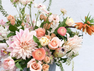 Soft & Neutral Arrangement