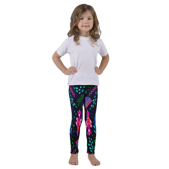 Kid's leggings Floral