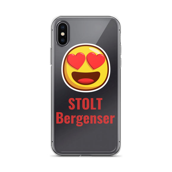 Stolt Bergenser - iPhone Case