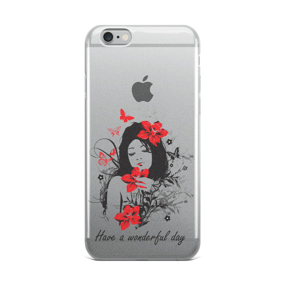 Have a wonderful day - iPhone Case