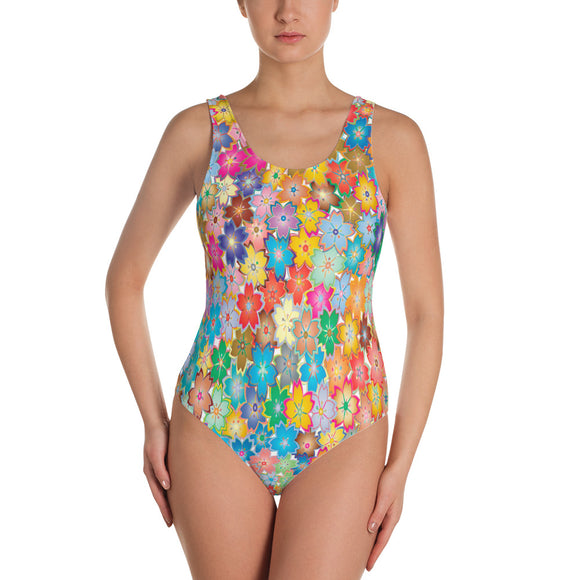 Flowers - Swimsuit